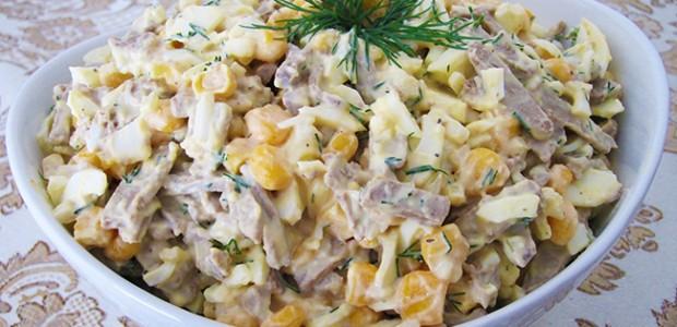 Tasty Liver Salad
